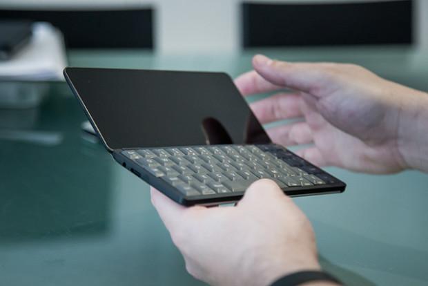 Comeback des Communicators: Britisches Startup bringt Tastatur-PDA Gemini
