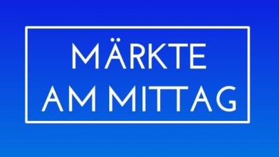 Märkte am Mittag: Europäische Startups tendenziell unterfinanziert
