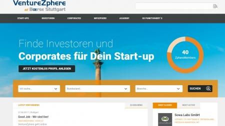 VentureZphere : Neue Plattform für Startups aus Stuttgart